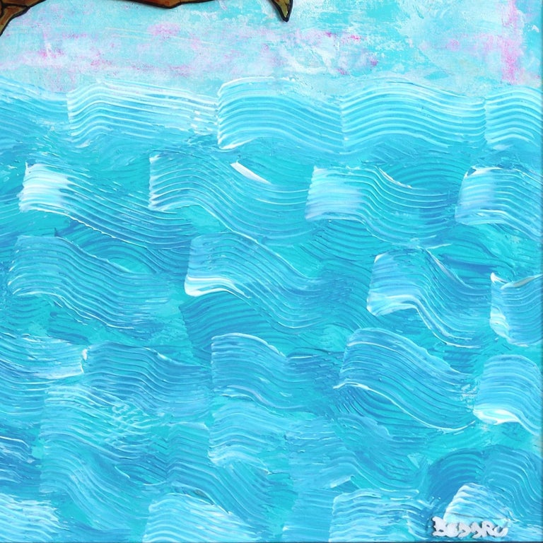 The World Is Mine - Ocean Inspired Painting For Sale 5