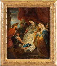 19th century Italian figurative painting Herod - Venetian Oil on Canvas Venice