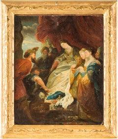 18th century Italian figurative painting Herod - Venetian oil on canvas Venice