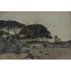 Giuseppe Casciaro, Ischia, 1929
