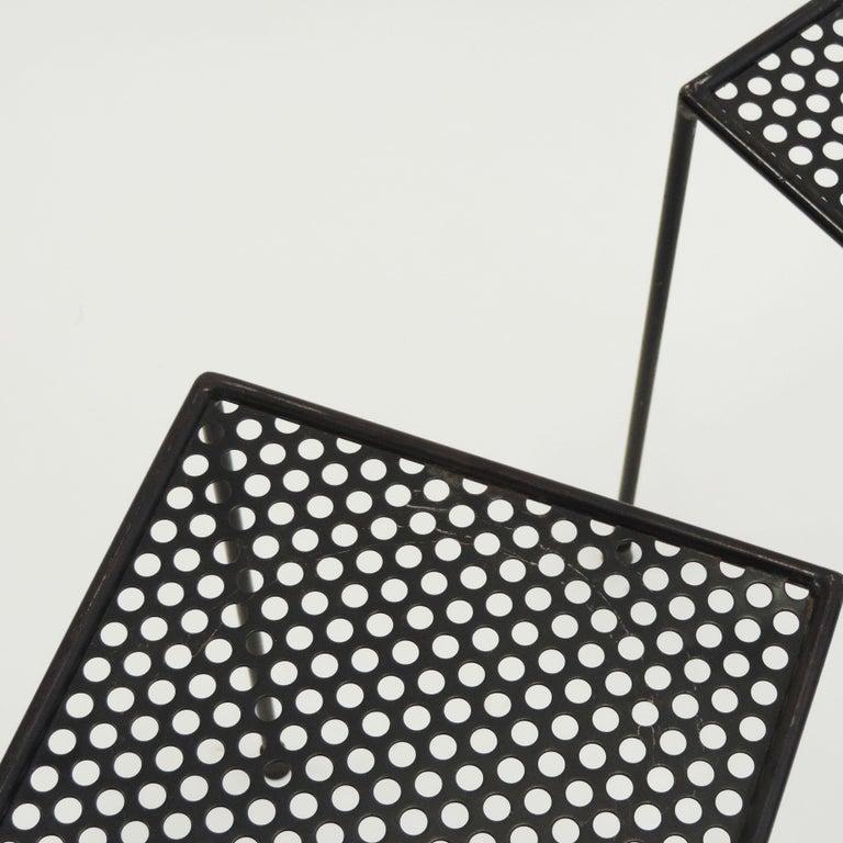 Giuseppe De Vivo Nesting Tables, Italy, 1950s In Good Condition For Sale In Milan, IT