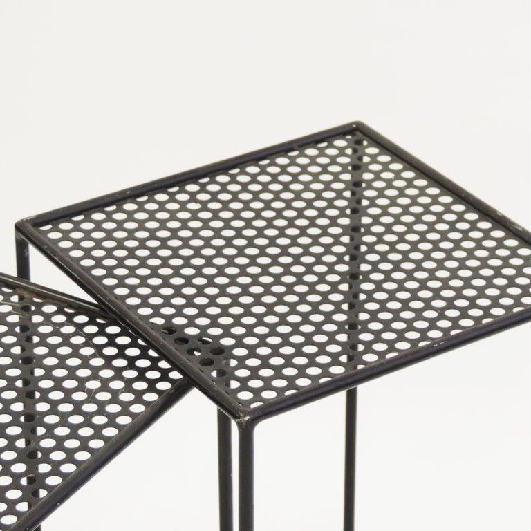 Giuseppe De Vivo Nesting Tables, Italy, 1950s For Sale 1