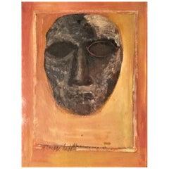 Giuseppe Napoli, Portrait, American Mid-Century O/C Modernist Painting, 1955-59
