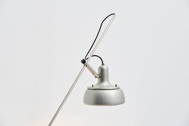 Mid-Century Modern Giuseppe Ostuni 292-R Desk Clamp Lamp Italy 1950 For Sale