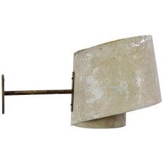 Giuseppe Ostuni Rare wall lamp for Oluce, Italy, 1950s