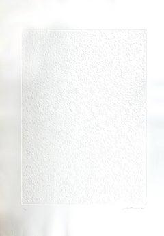 Monadi bianche - Original Etching by Giuseppe Santomaso - 1970