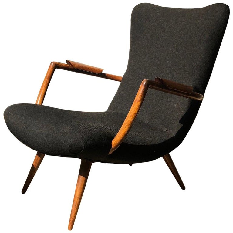 Giuseppe Scapinelli Armchair Made Of Solid Caviuna Wood For Sale At