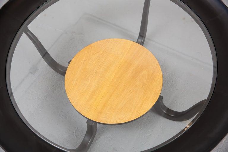 Glass Giuseppe Scapinelli Brazilian Modern Coffee Table For Sale