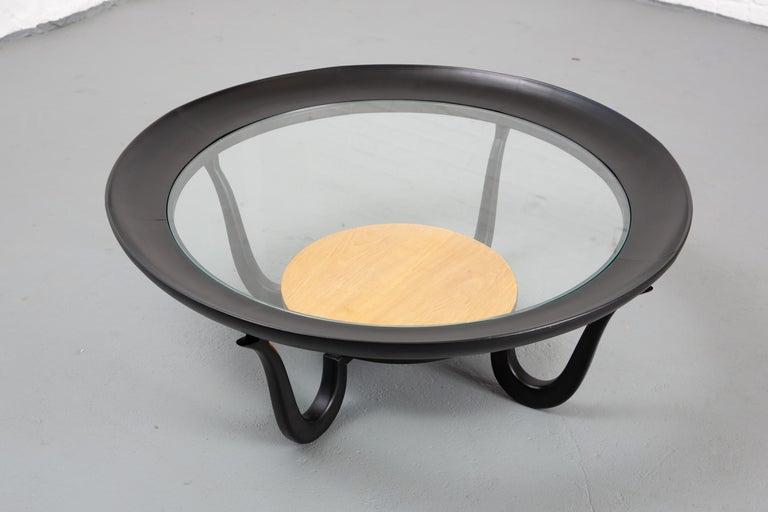 Giuseppe Scapinelli Brazilian Modern Coffee Table For Sale 1