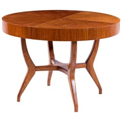 Giuseppe Scapinelli Brazilian mid-century Dining Table in Caviuna Wood
