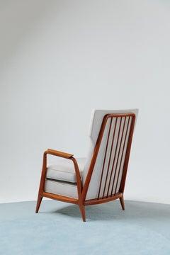 Giuseppe Scapinelli Mid-Century Modern Lounge Armchair