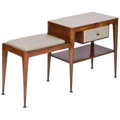Giuseppe Scapinelli Midcentury brazilian telephone table, 1950´s