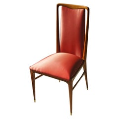 Giuseppe Scapinelli, Set of 10 Chairs Made of Solid Caviuna Wood