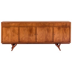 Giuseppe Scapinelli Credenza/Sideboard in Caviuna Wood, Brazil, 1950s