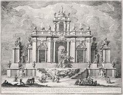 La celebre impresa di Ercole negl'Esperidi  - Etching by Giuseppe Vasi - 1774