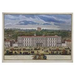 Giuseppe Vasi Prospetto di Palazzo Corsini 1751 Grand Tour Roman View