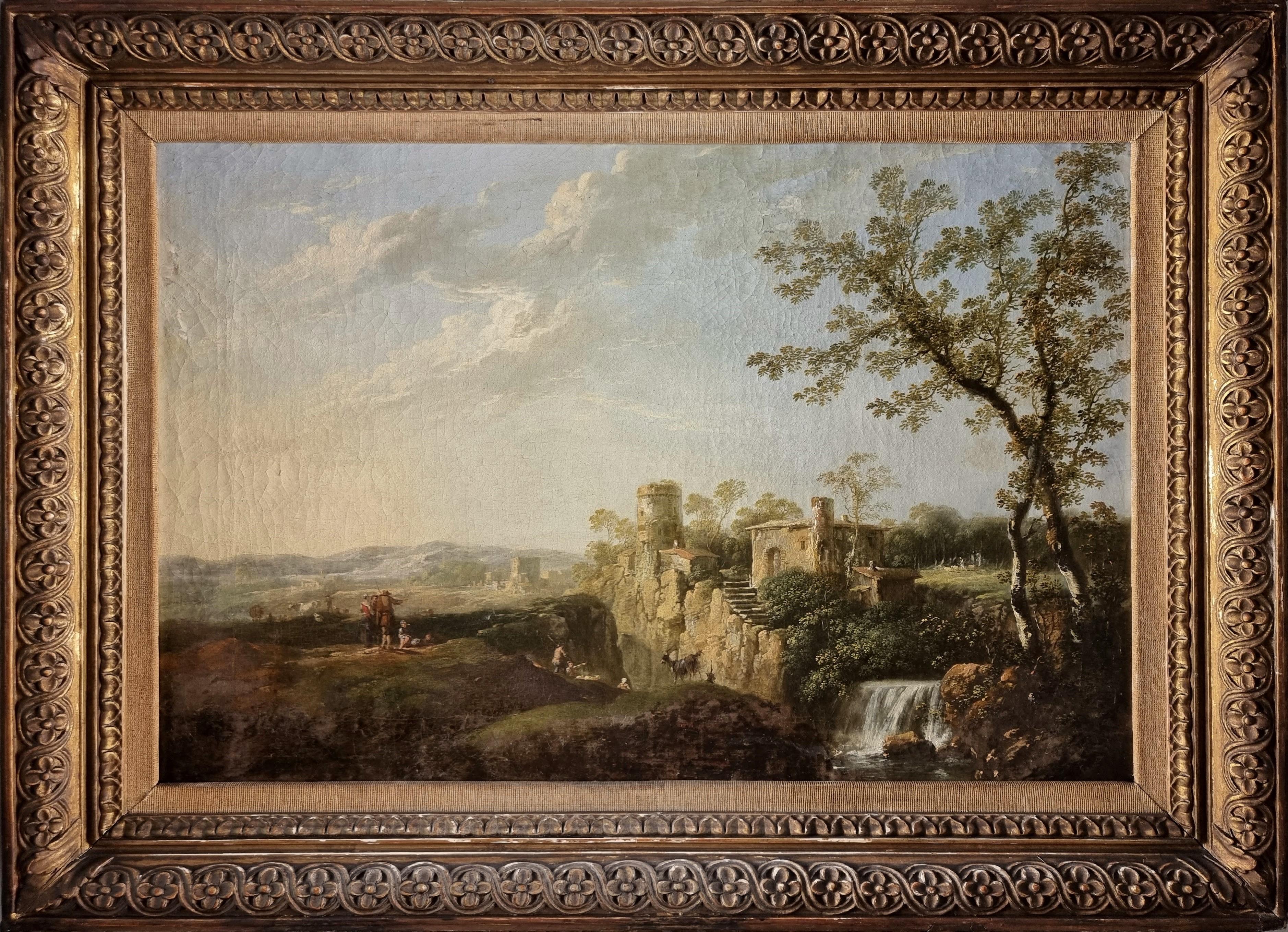 Italian Landscape attributed to Giuseppe Zais