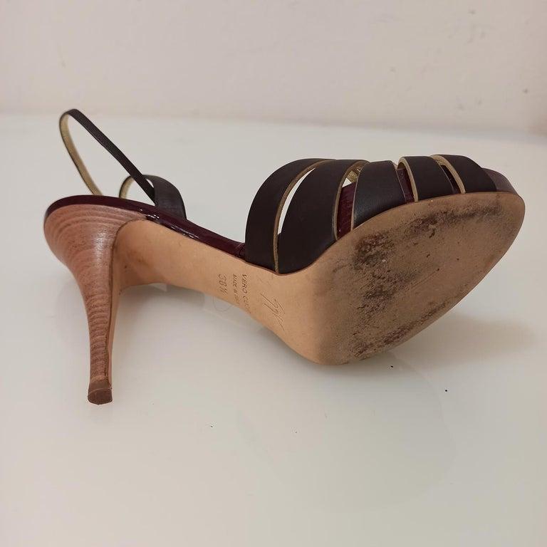 Giuseppe Zanotti Jewel Sandal 38 For Sale 1