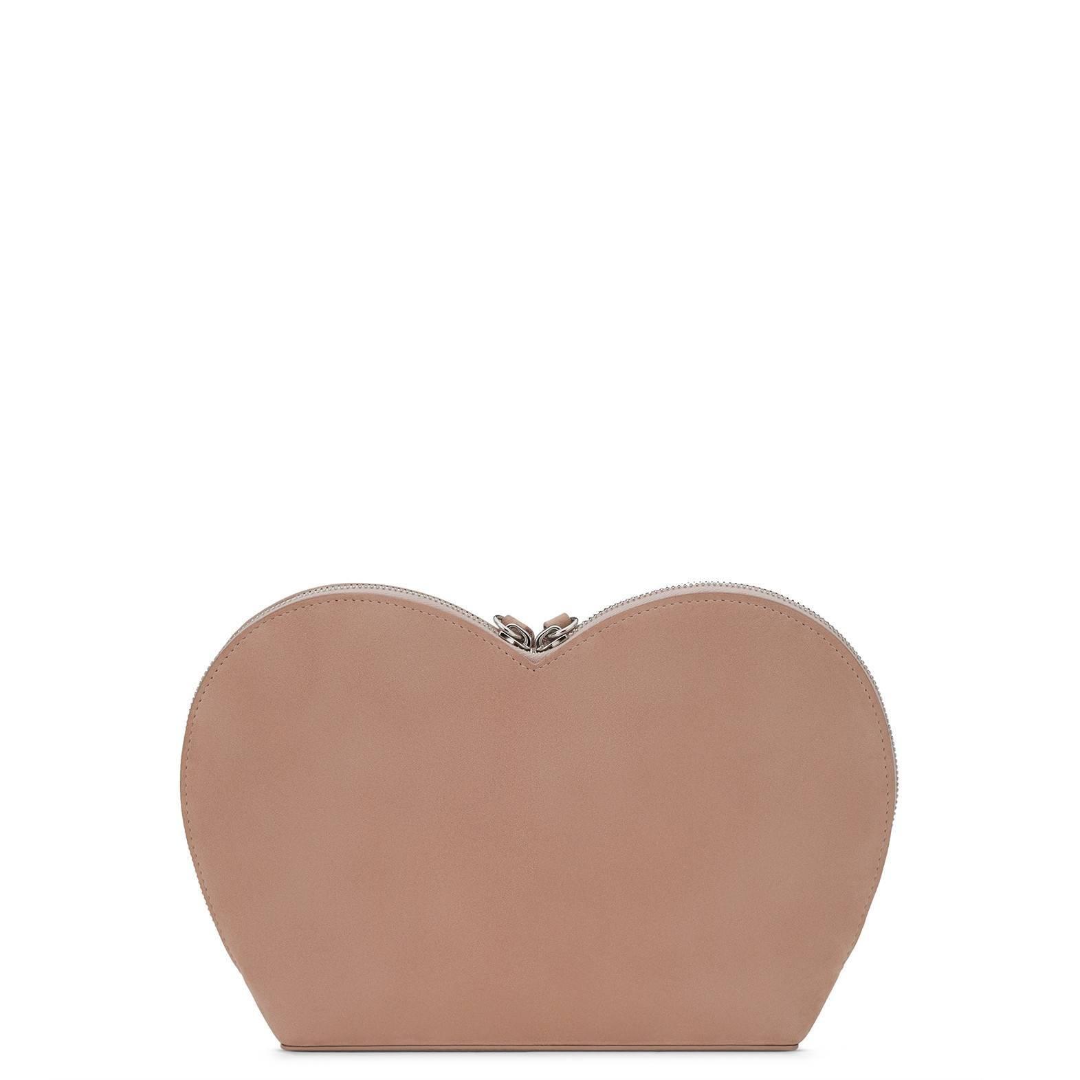 Giuseppe Zanotti Logo Blush Suede Dual Tassel Evening Clutch Bag e629xbRvI9