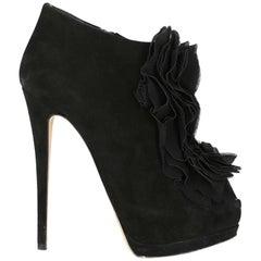 Giuseppe Zanotti Woman Ankle boots Black IT 38.5