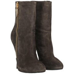 Giuseppe Zanotti Woman Ankle boots Brown IT 39.5