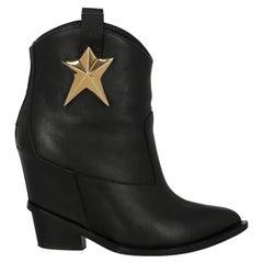 Giuseppe Zanotti  Women   Ankle boots  Black Leather EU 37