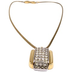 GIVENCHY 1970s Vintage Pendant Necklace