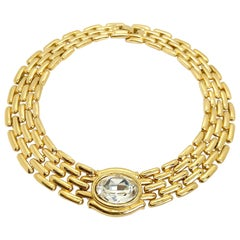 Givenchy 1980s Vintage Statement Collar Necklace