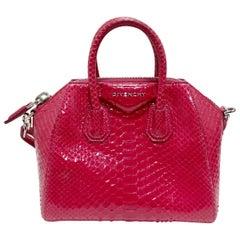Givenchy 2011 Antigona Mini Python Bag