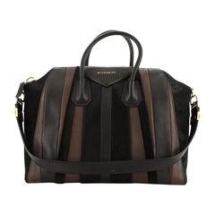 Givenchy Antigona Bag Calf Hair and Leather Large