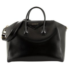 Givenchy Antigona Bag Glazed Leather Large