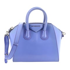 Givenchy Antigona Bag Glazed Leather Mini