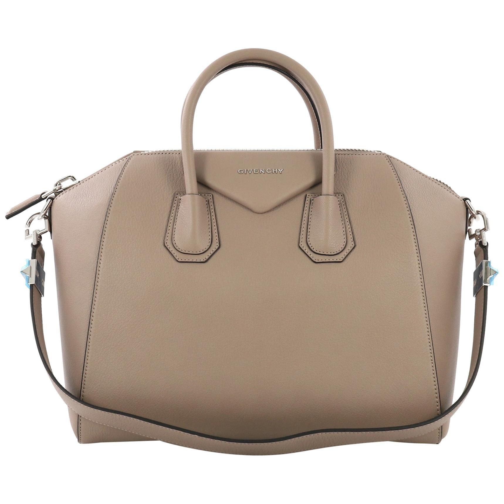 ca98e1e0e0 Givenchy Plum Purple Leather Nightingale Mini Handbag at 1stdibs
