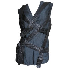 Givenchy Attributed Straps Bondage Vest