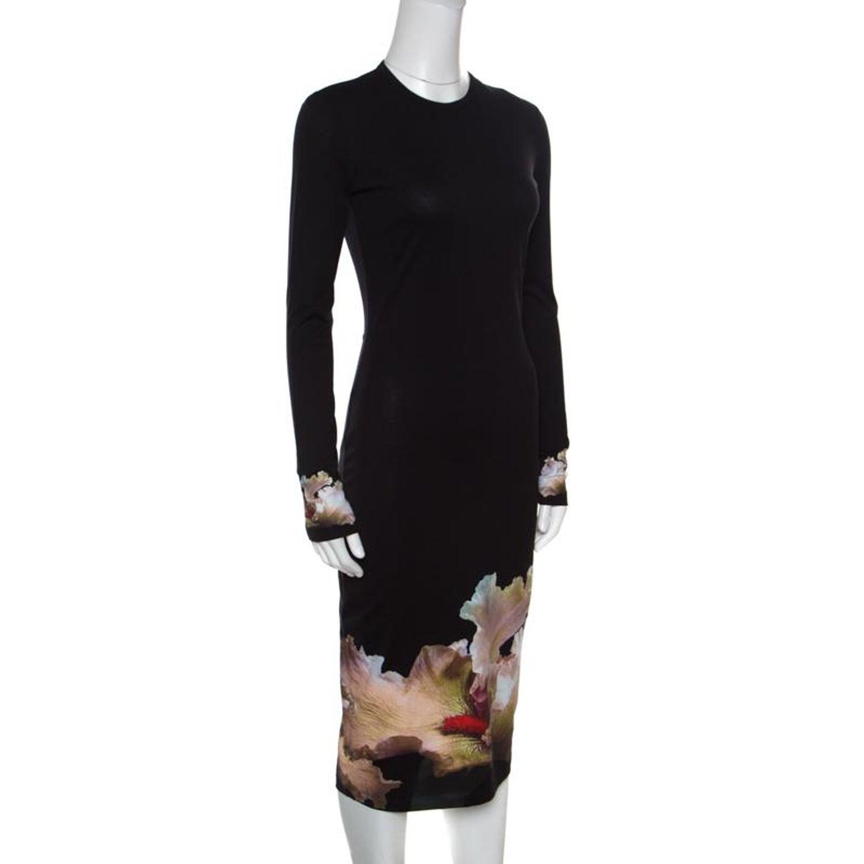 20dca2010ac Floral Print Long Sleeve Bodycon Dress - Gomes Weine AG