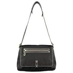GIVENCHY Black G Monogram Nylon Shoulder Bag