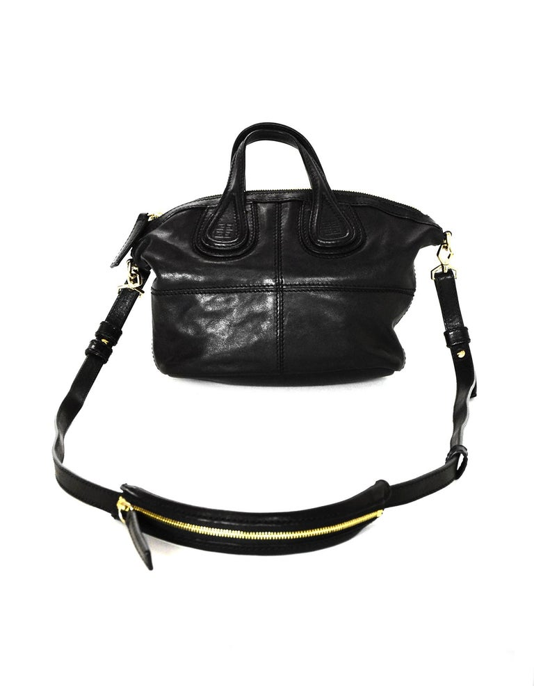 e934507669 Women's Givenchy Black Lambskin Leather Micro Nightingale Crossbody Bag For  Sale