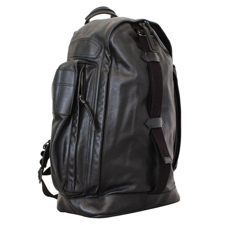 Stunning Givenchy large bacpack Leather Black color Comfort braces Zip closure Two lateral zip pockets Cm 48 x 50 x 15 (18.89 x 19.6 x 5.9 inches) Original price €uro 2900 Worldwide express shipping included in the price !