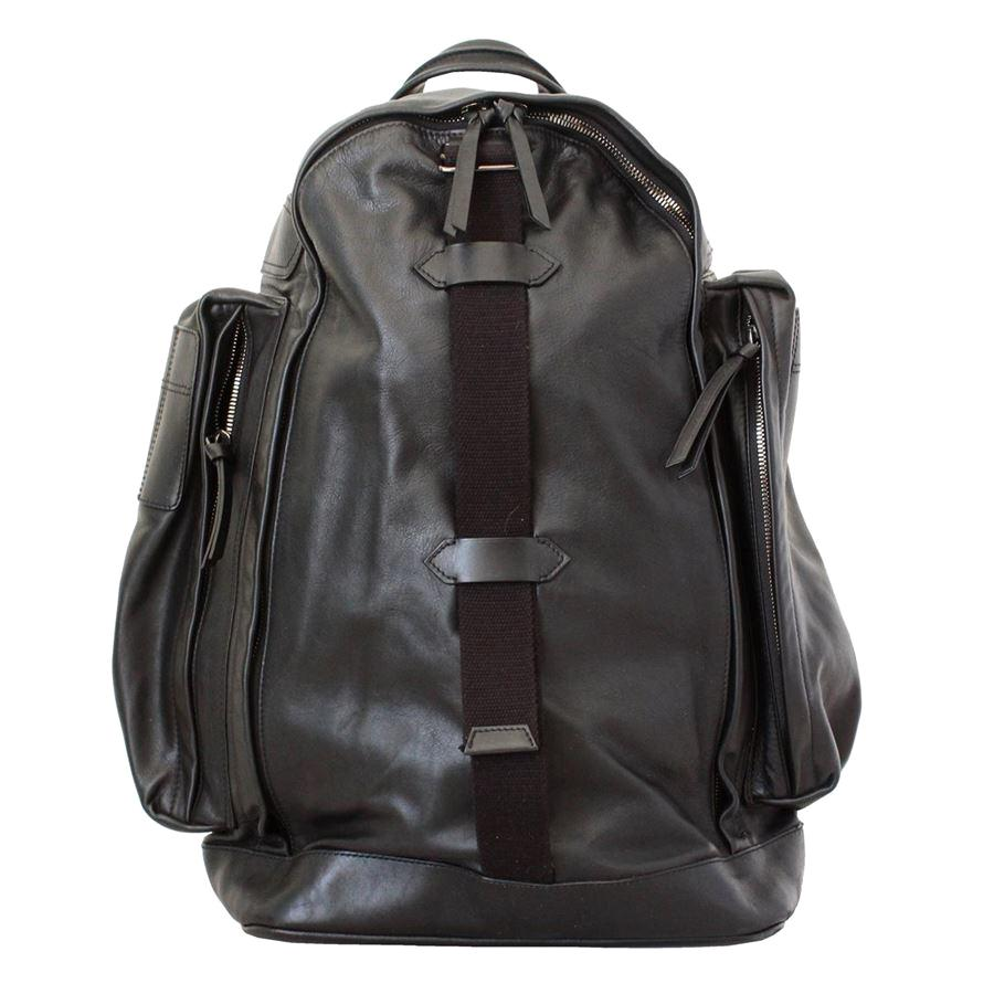 Givenchy Black Leather Large Backpack