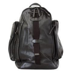 Givenchy Black Leather Large Backpack