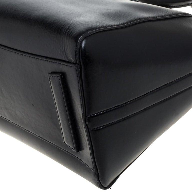 Givenchy Black Leather Medium Antigona Satchel 7