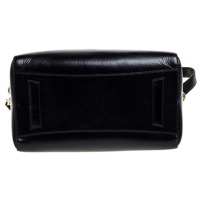 Givenchy Black Leather Medium Antigona Satchel 1