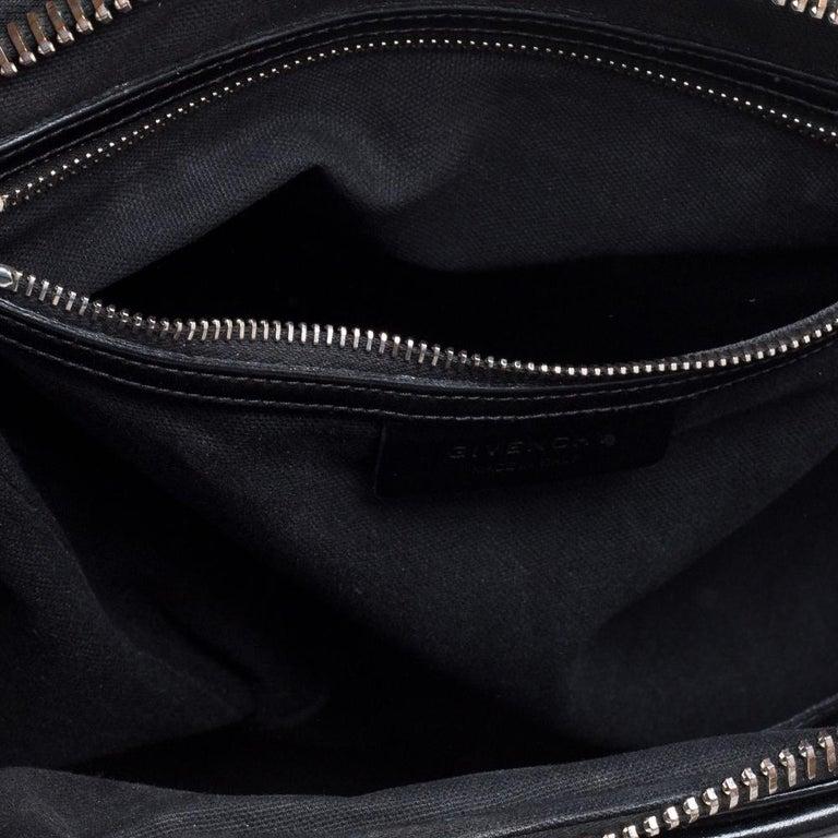 Givenchy Black Leather Medium Antigona Satchel 3