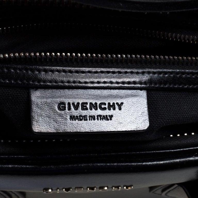 Givenchy Black Leather Medium Antigona Satchel 4