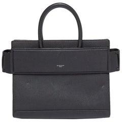 Givenchy Black Leather Medium Horizon Tote