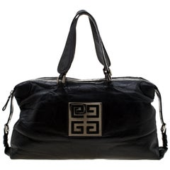 Givenchy Black Leather Nightingale Satchel