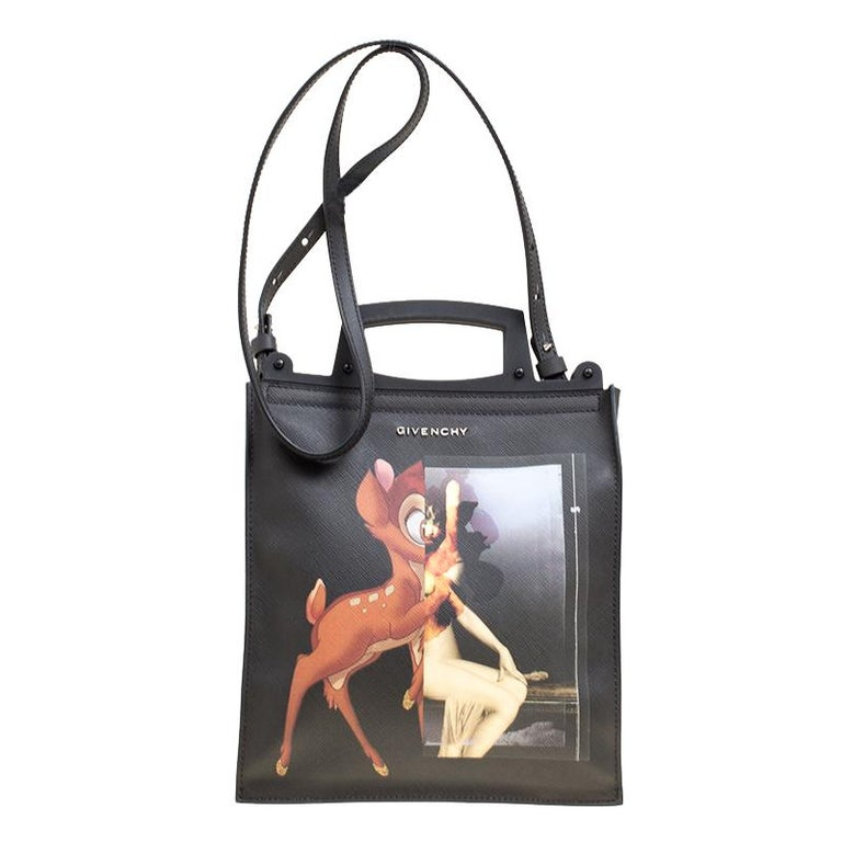 827adc511d713 Givenchy Black Leather Rave Bambi Crossbody Bag at 1stdibs