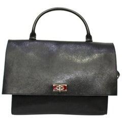 Givenchy Black Leather Shark Bag