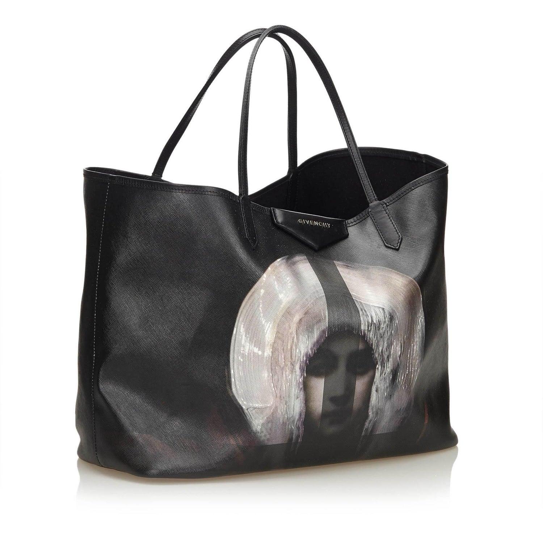 cc6b7ead02c8 Givenchy Black Madonna Antigona at 1stdibs