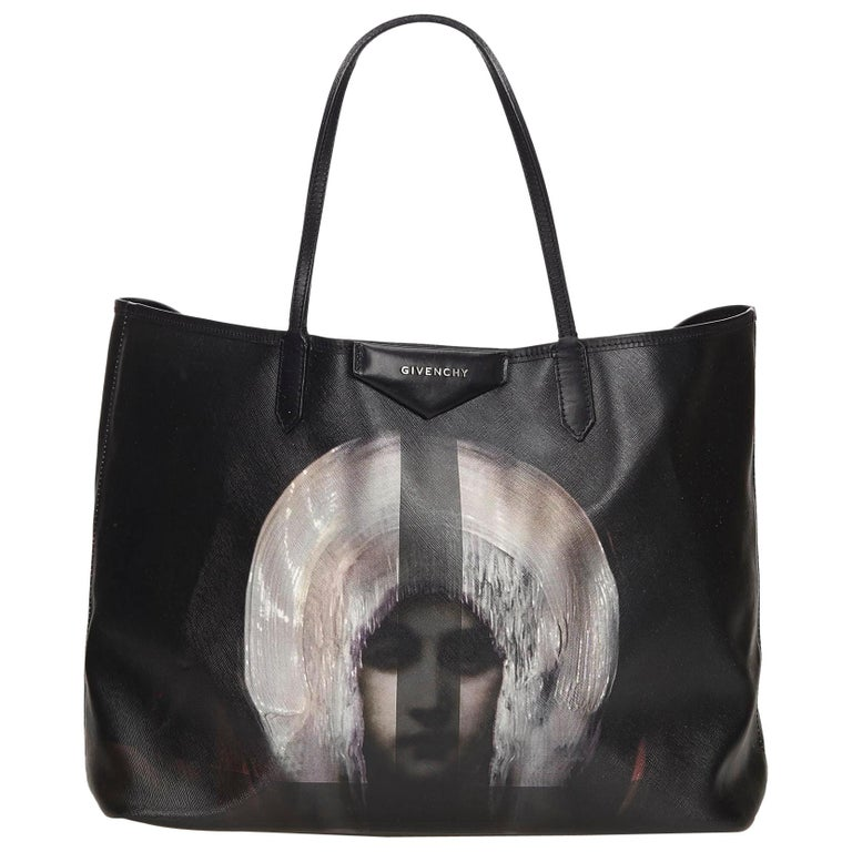 02ac12cbdd Givenchy Black Madonna Antigona at 1stdibs